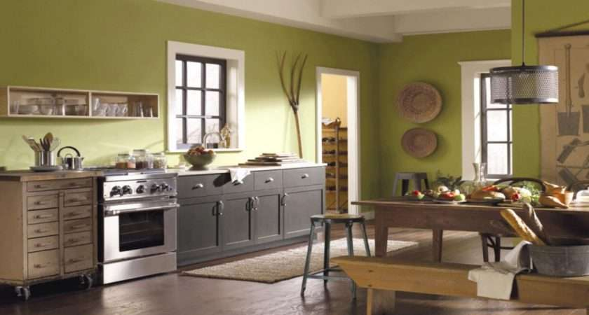 Black Lion Dining Rooms Green Kitchen Paint Color