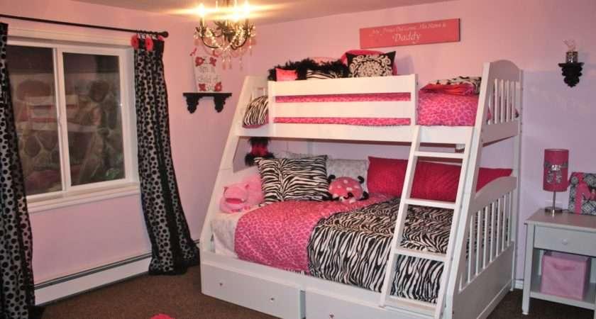 Black Pink Bedroom Ideas