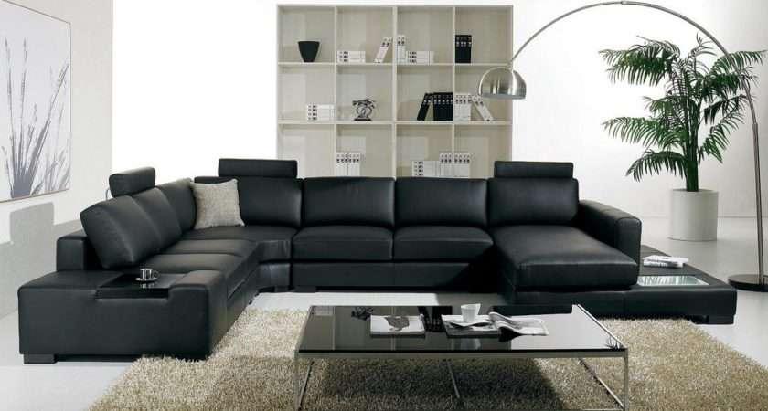 Black Sofa Living Room Ideas Decorating Home