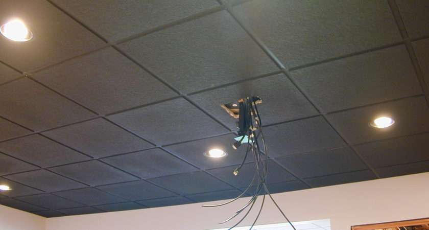 Black Suspended Ceiling Avs Forum Home Theater Discussions