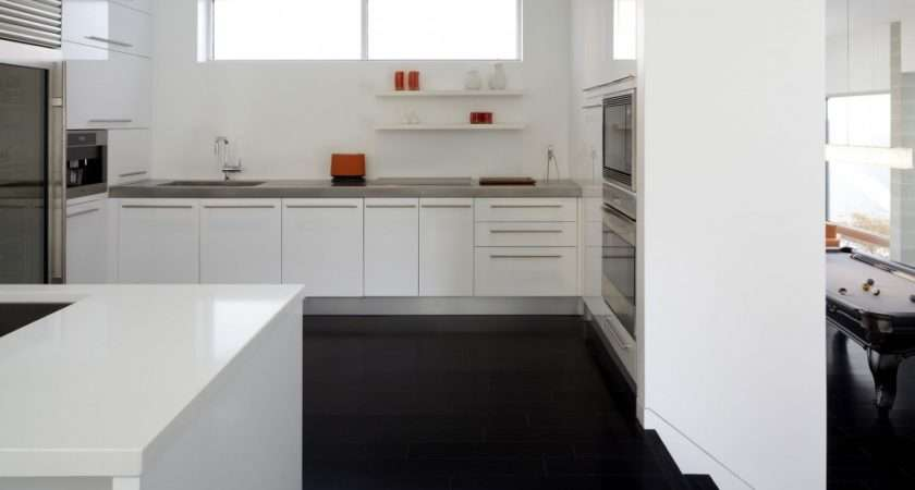 Black Waterproof Laminate Flooring Options Kitchen Ideas