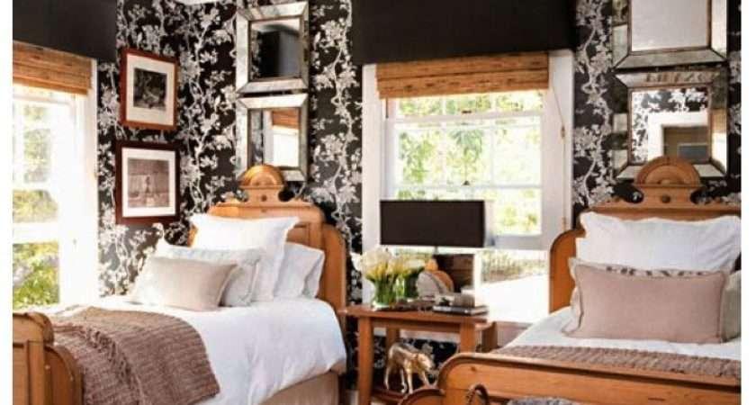 Black White Bamboo Shades Antique Pine Furniture
