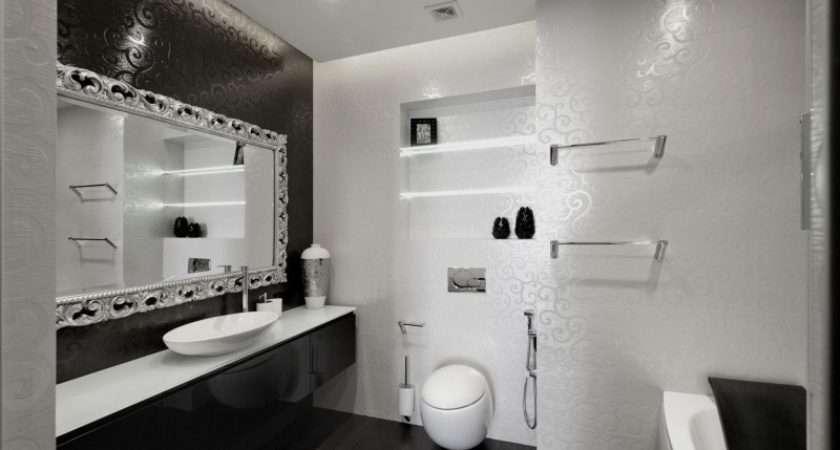 Black White Bathroom Design Decoist