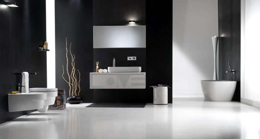 Black White Bathroom Design Inspirations Digsdigs