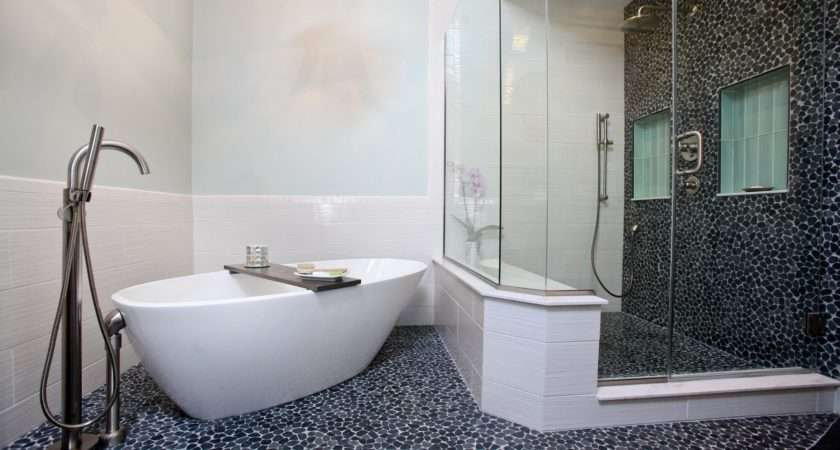 Black White Bathroom Ideas Tile