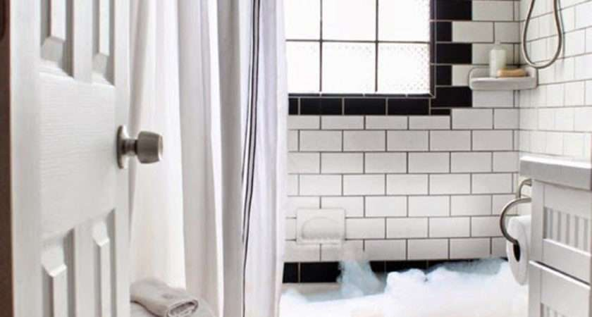Black White Bathroom Tile Ideas