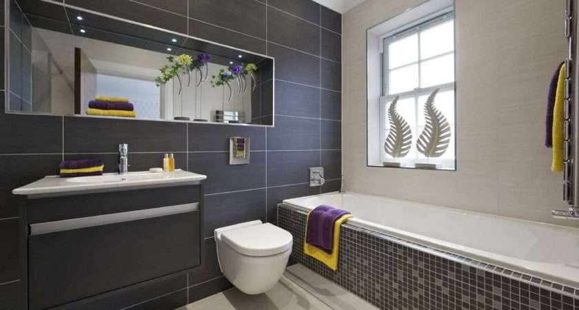 Black White Bathroom Tiles Designs