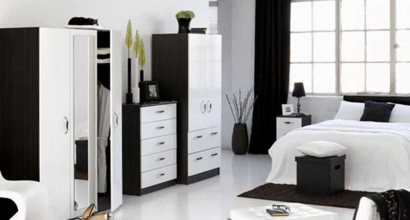 Black White Bedroom Design Suggestions Interior