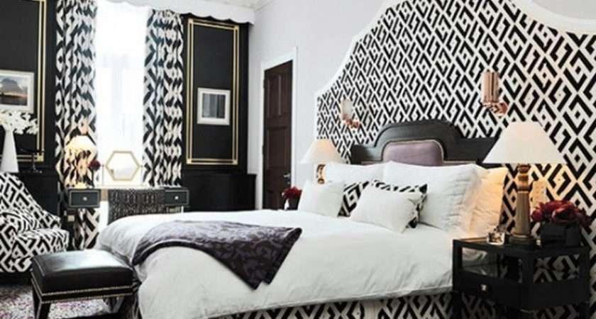 Black White Bedroom Interior Design Ideas