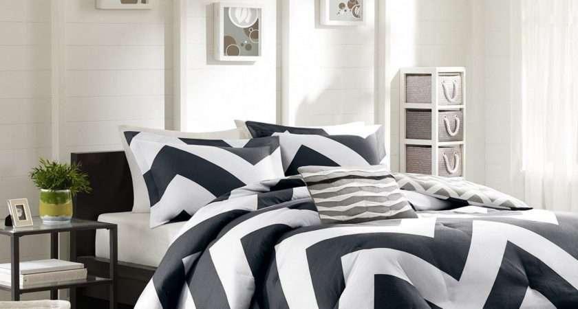Black White Bedrooms Symbol Comfort Elegant