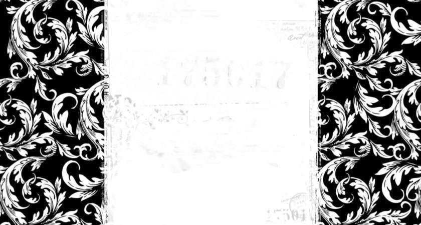 Black White Border