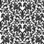 Black White Damask Apps Directories