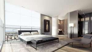 Black White Gray Bedroom Decor Interior Design Ideas