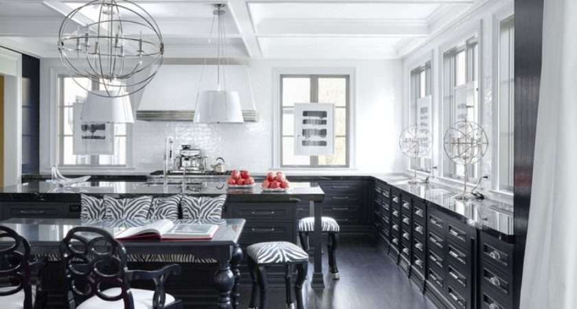 Black White Kitchen Design Decor Ideas
