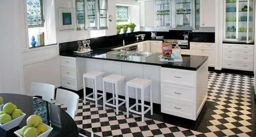 Black White Kitchen Flooring Your Dream Home