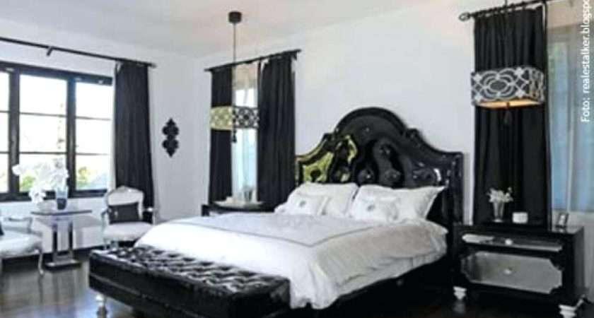 Black White Master Bedroom Decorating Ideas Savae