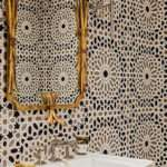 Black White Mosaic Bathroom Tile Ideas