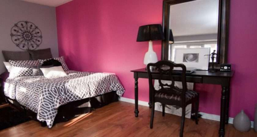 Black White Pink Bedroom Ideas Gray