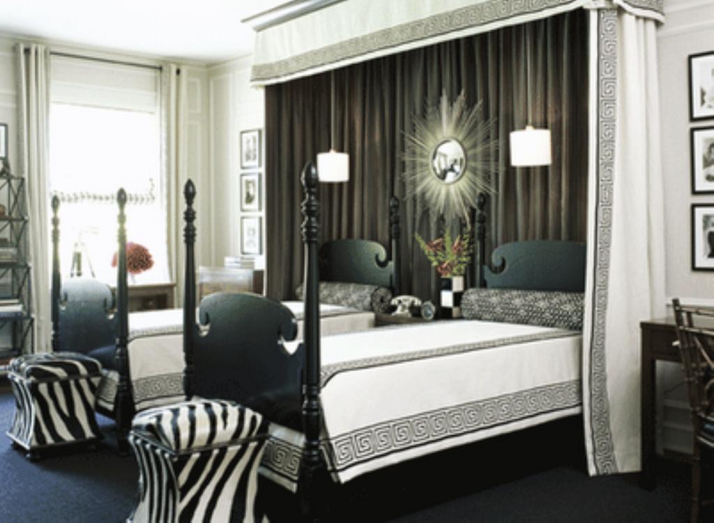 Black White Rooms Interior Designs Idea
