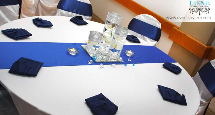 Black White Royal Blue Decor Elegance Dream Home Design