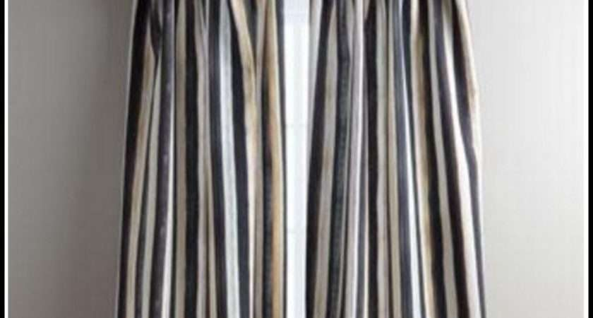 Black White Striped Curtains Ikea Home