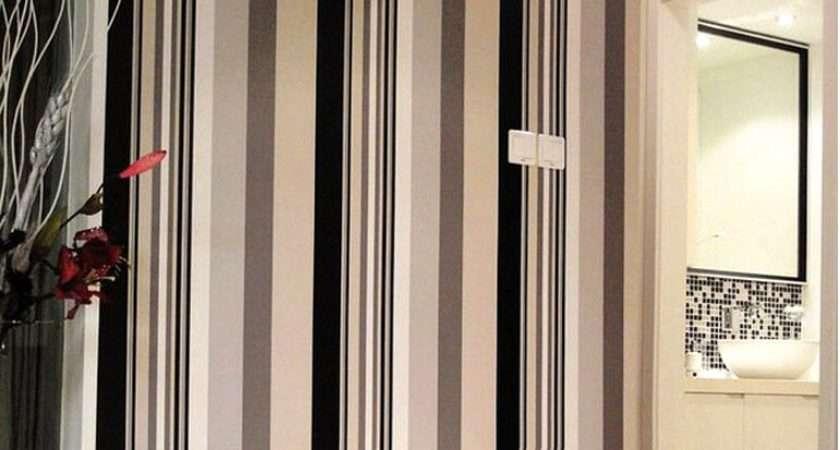 Black White Striped Pvc Waterproof