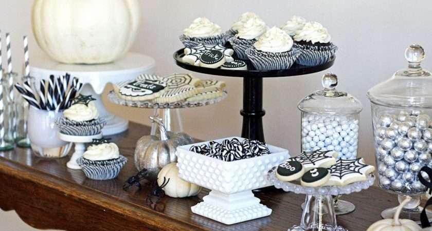 Black White Treats Table Hgtv