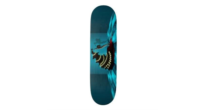 Black Xmas Decorating Christmas Tree Skate Board Decks Zazzle