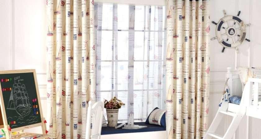 Blackout Curtain Fabrics Tulle Boys Bedroom Panel