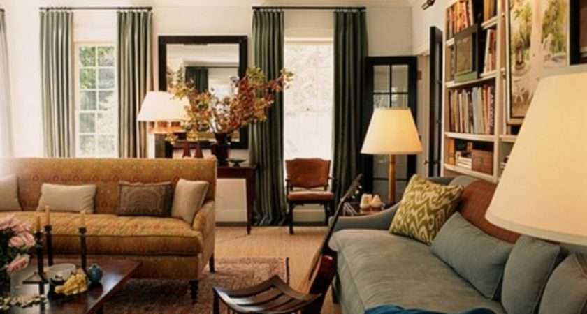 Blending Traditional Modern Living Room Design