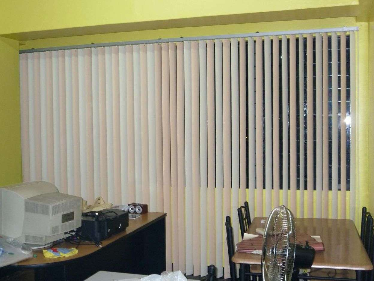 Blinds Curtains Together