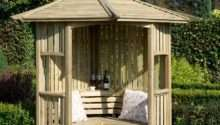 Blooma Softwood Corner Arbour Departments Diy
