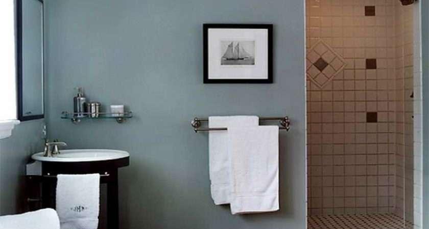 Blue Bathroom Ideas Brown Small Design