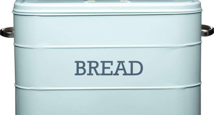 Blue Bread Bin Shop Cheap Kitchen Save
