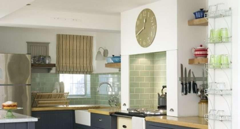 Blue Country Kitchen Kitchens Housetohome