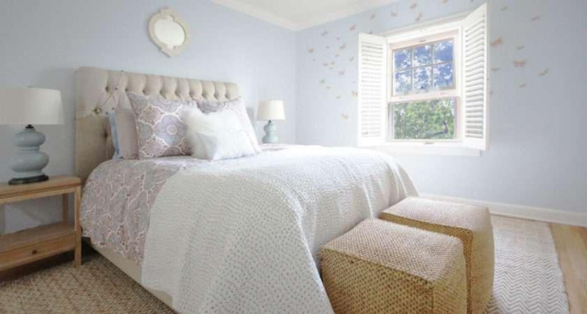 Blue Cream Bedroom Decor Joy Studio Design