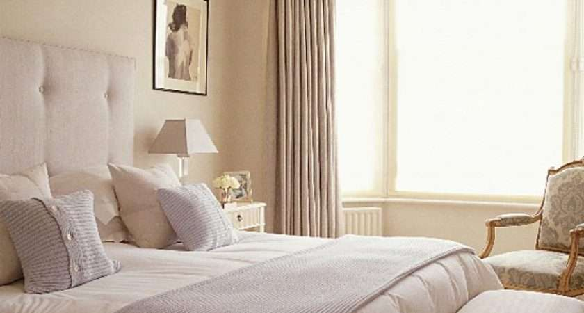 Blue Cream Bedroom Furniture Decorating