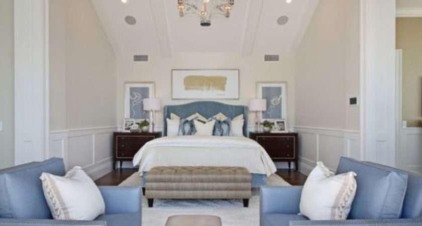 Blue Cream Bedrooms Houzz