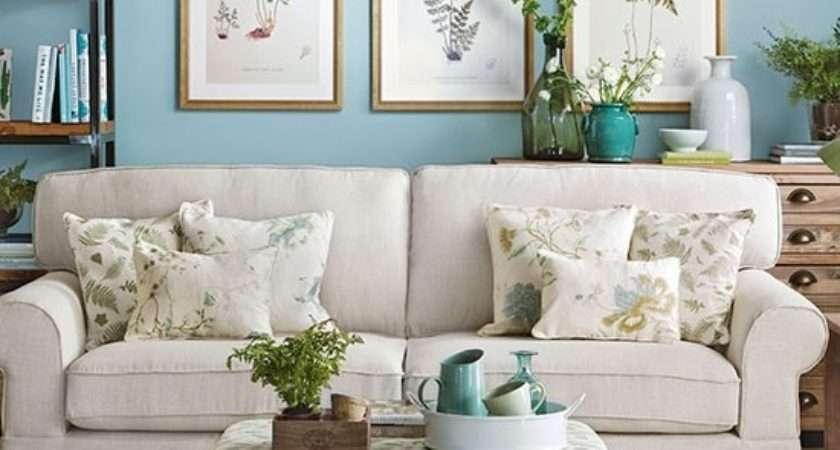 Blue Cream Living Room Ideas Astana Apartments