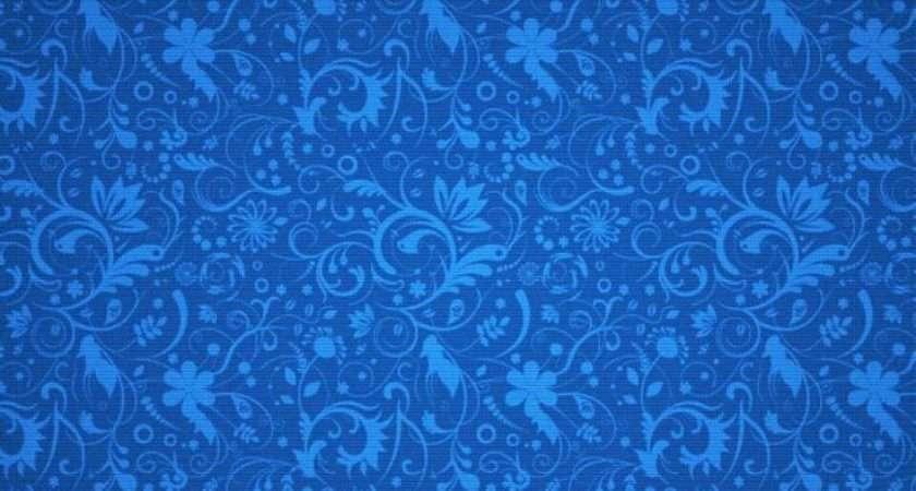 Blue Floral Designs Top