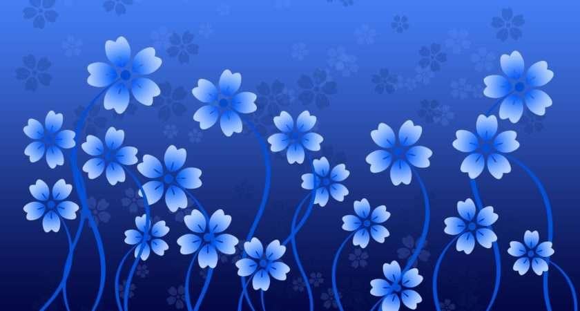 Blue Flower Wallpaperlepi