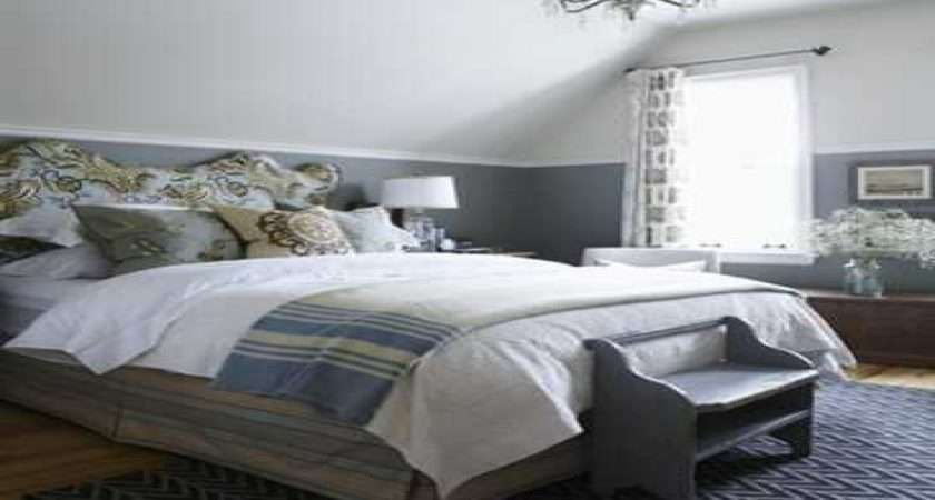 Blue Gray Bedroom Decorating Ideas