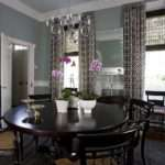 Blue Gray Walls Curtains Decorating Pinterest Dining
