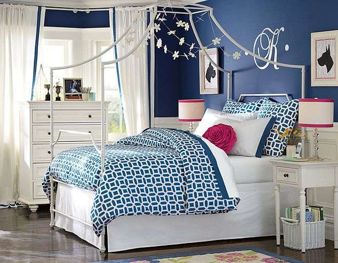 Blue Pink Bedroom Ideas Girls Entirely Eventful Day