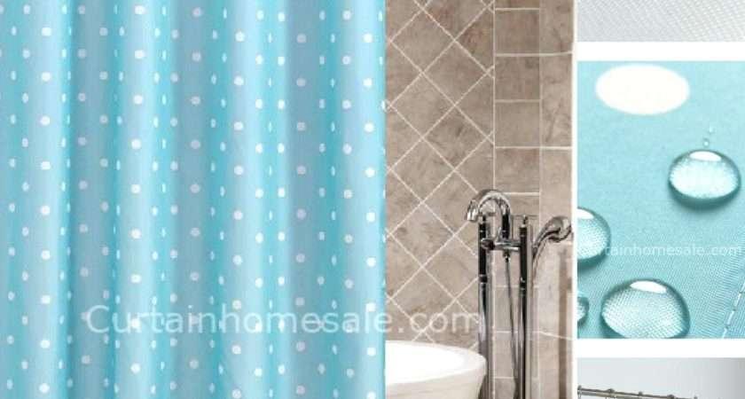 Blue Polka Dot Curtains Curtain Menzilperde