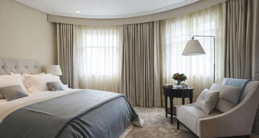 Blue Taupe Bedroom Lovely Interiors Pinterest