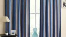 Blue White Striped Curtains Ready Made Curtain