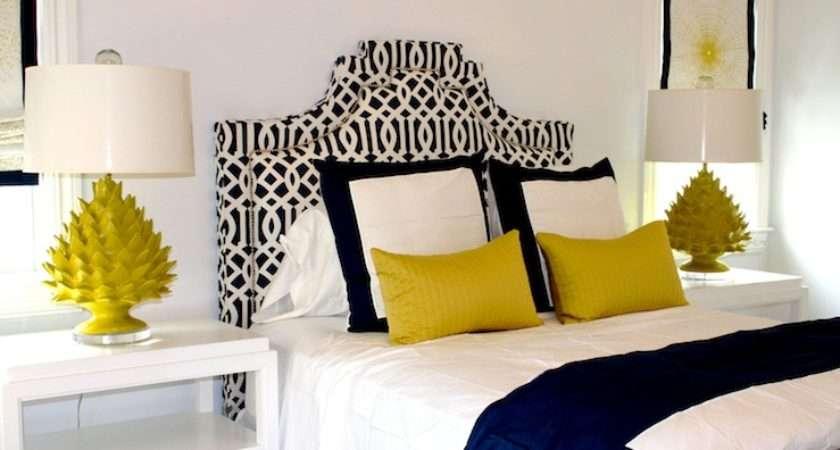Blue Yellow Bedroom Contemporary Porter Design Company