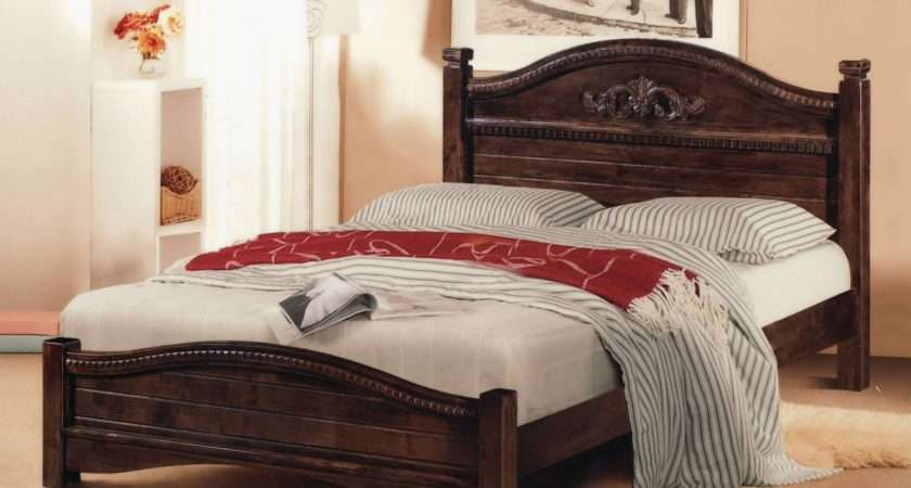 Blueprints Classic Wood Bed Plans
