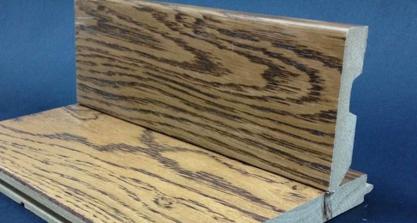 Board Wood Effect Coloured Veneer Oak Skirting